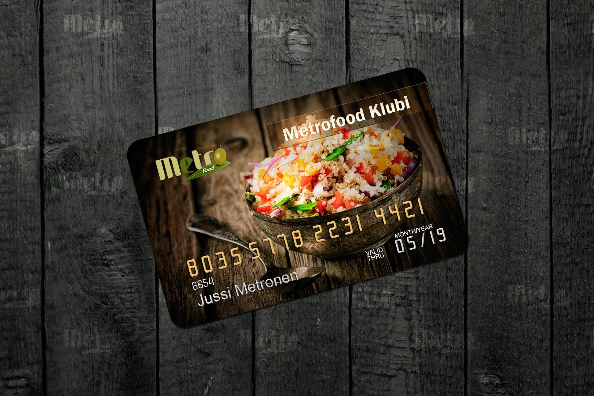 Metrofoodin klubi-kortti