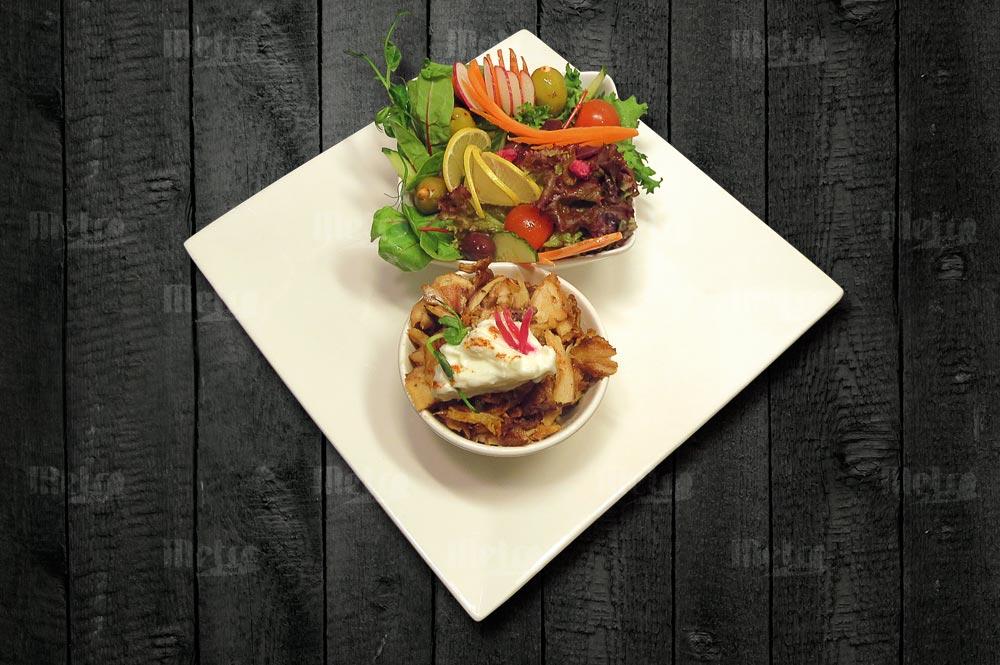metrofood shawarma salaatilla