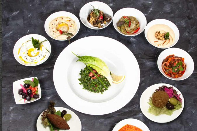 Meze grill yhdelle